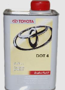 TOYOTA BRAKE FLUID DOT4  (EU), 0,75 литра