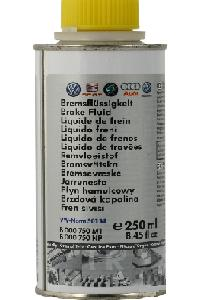VAG BRAKE FLUID DOT4, 0,25 литра