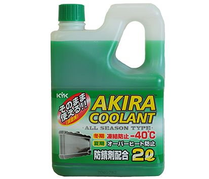 KYK AKIRA COOLANT ALL SEASON -40ºC, 2 литра