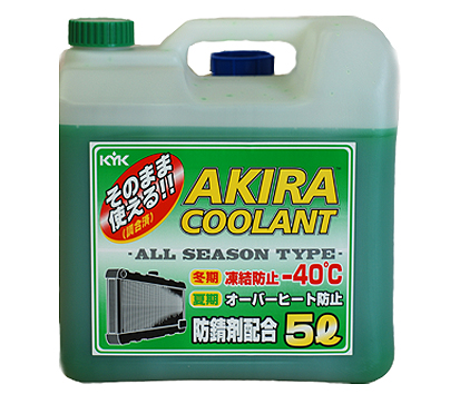 KYK AKIRA COOLANT ALL SEASON -40ºC, 5 литров