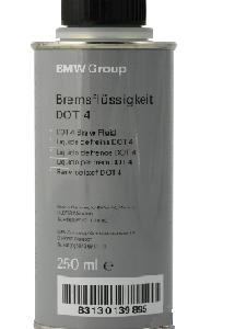 BMW BRAKE FLUID DOT4, 0,25 литра