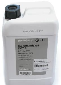 BMW BRAKE FLUID DOT4, 5 литров