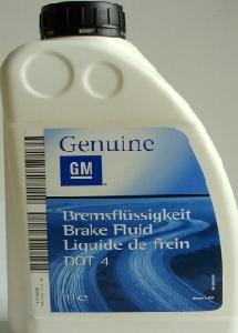 OPEL BRAKE FLUID DOT4, 1 литр