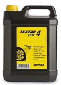 TEXTAR BRAKE FLUID DOT4, 5 литров