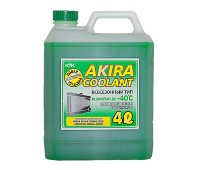 KYK AKIRA COOLANT ALL SEASON -40ºC, 4 литра