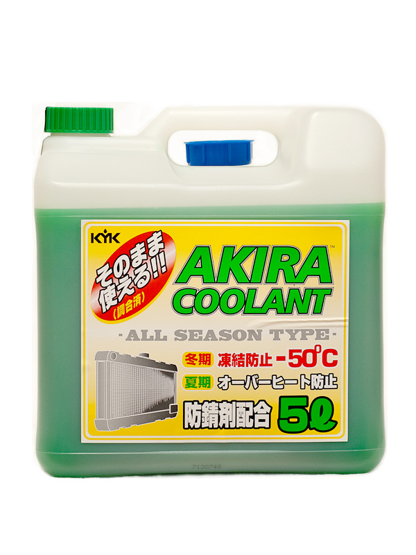KYK AKIRA COOLANT ALL SEASON -50ºC, 5 литров